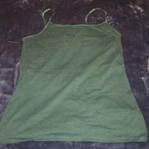 Evergreen Mossimo Bra-top Cami